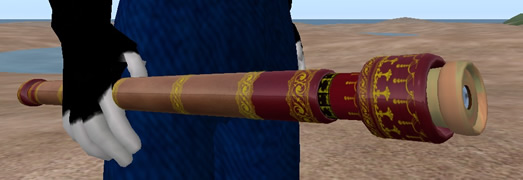 Galileo telescope in Second Life