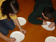 Plotting Turtle Hatch results on paper plates