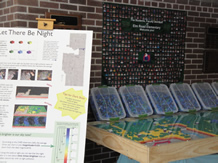 Let There Be Night model displayed at Elm Rd. Elementary School